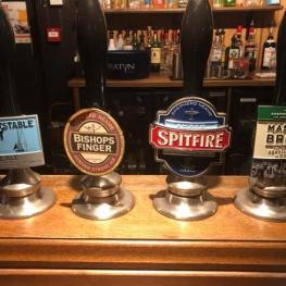 Real Ale at Three Lions Farncombe